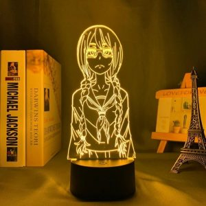 SAKI YOSHIDA LED ANIME LAMP (EMERGENCE | METAMORPHOSIS) Otaku0705 TOUCH Official Anime Light Lamp Merch