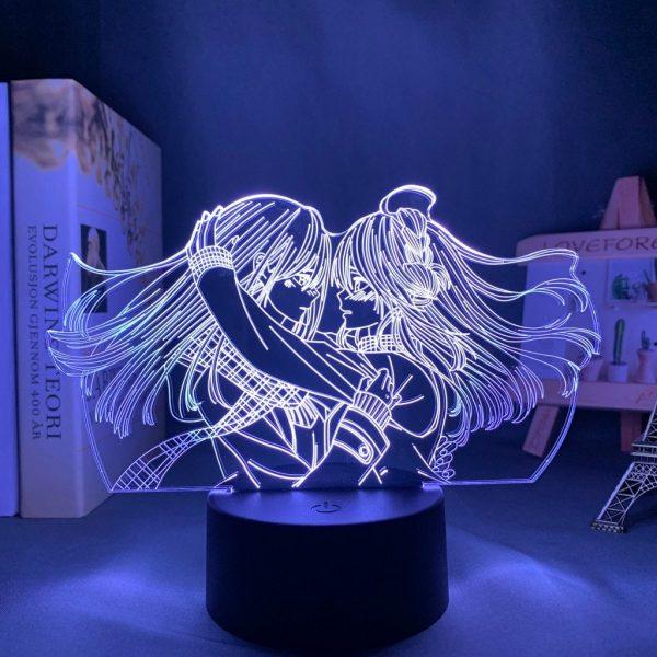 MEI X YUZU LED ANIME LAMP (CITRUS) Otaku0705 TOUCH Official Anime Light Lamp Merch