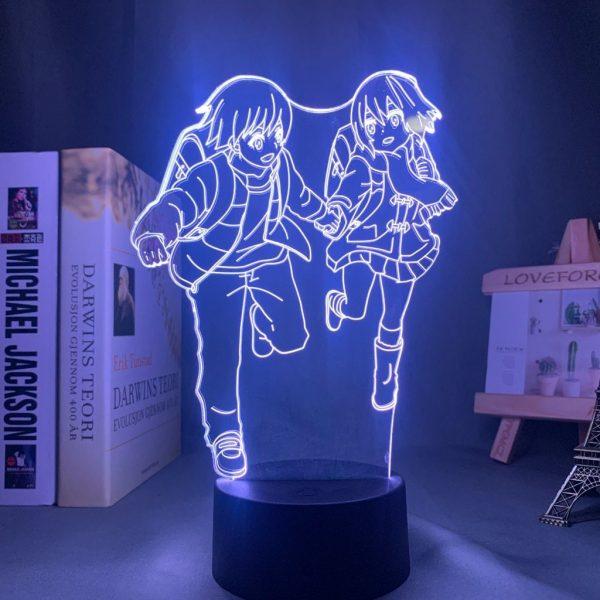 KAYO AND SATORU LED ANIME LAMP (ERASED) Otaku0705 TOUCH +(REMOTE) Official Anime Light Lamp Merch