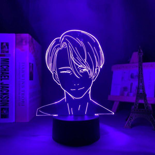 VICTOR LED ANIME LAMP (YURI ON ICE) Otaku0705 TOUCH Official Anime Light Lamp Merch