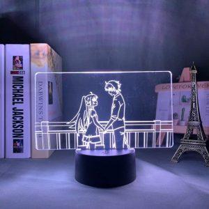 ISLA AND TSUKASA LED ANIME LAMP (PLASTIC MEMORIES) Otaku0705 TOUCH Official Anime Light Lamp Merch