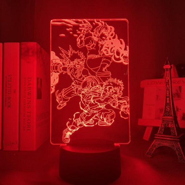 SHOTO X BAKUGO X IZUKU LED ANIME LAMP (MY HERO ACADEMIA) Otaku0705 TOUCH +(REMOTE) Official Anime Light Lamp Merch