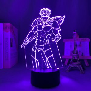 LANCER LED ANIME LAMP (FATE/STAY NIGHT) Otaku0705 TOUCH +(REMOTE) Official Anime Light Lamp Merch