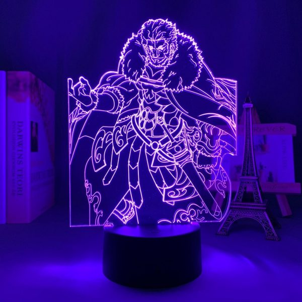 ISKANDAR LED ANIME LAMP (FATE/STAY NIGHT) Otaku0705 TOUCH +(REMOTE) Official Anime Light Lamp Merch