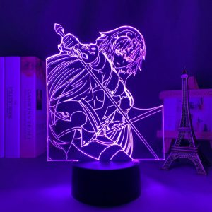 JEANNE LED ANIME LAMP (FATE/STAY NIGHT) Otaku0705 TOUCH +(REMOTE) Official Anime Light Lamp Merch
