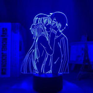 ASUNA + KIRITO LOVE LED ANIME LAMP (SWORD ART ONLINE) Otaku0705 TOUCH Official Anime Light Lamp Merch