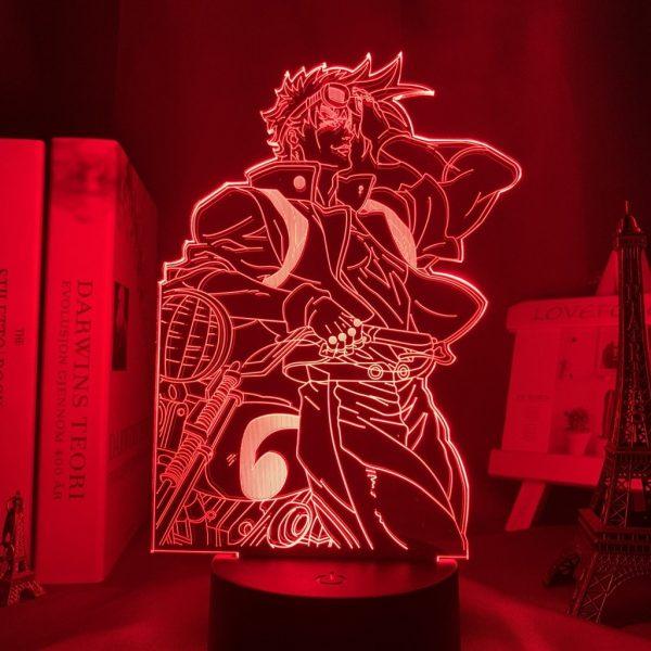 JOSEPH JOESTAR LED ANIME LAMPS (JOJO'S BIZARRE ADVENTURE) Otaku0705 TOUCH +(REMOTE) Official Anime Light Lamp Merch