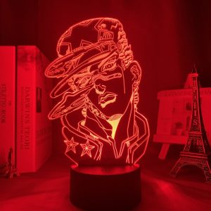JOTARO KUJO LED ANIME LAMPS (JOJO'S BIZARRE ADVENTURE) Otaku0705 TOUCH Official Anime Light Lamp Merch