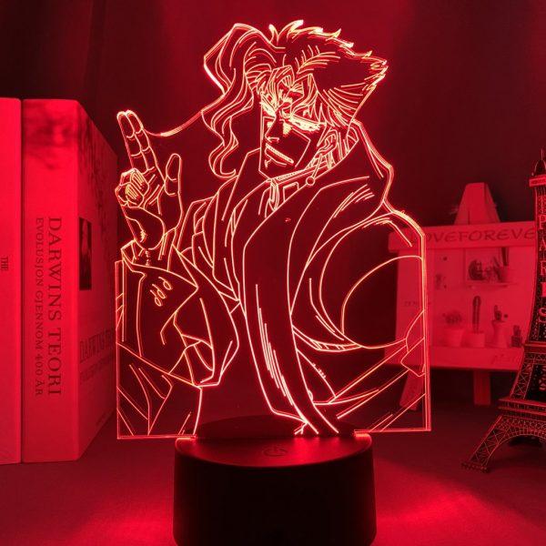 NORIAKI KAKYOIN LED ANIME LAMPS (JOJO'S BIZARRE ADVENTURE) Otaku0705 TOUCH Official Anime Light Lamp Merch
