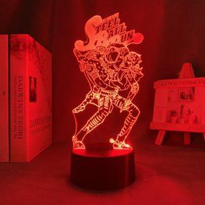 HOL HORSE STEEL BALL RUN LED ANIME LAMPS (JOJO'S BIZARRE ADVENTURE) Otaku0705 TOUCH Official Anime Light Lamp Merch