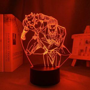 YOSHIKAGE KIRA LED ANIME LAMPS (JOJOS BIZARRE ADVENTURE) Otaku0705 TOUCH +(REMOTE) Official Anime Light Lamp Merch