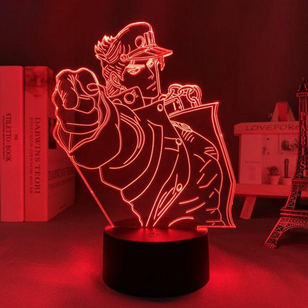 JOTARO KUJO LED ANIME LAMPS (JOJOS BIZARRE ADVENTURE) Otaku0705 TOUCH +(REMOTE) Official Anime Light Lamp Merch