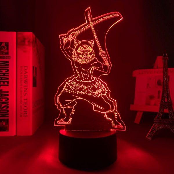 INOSUKE + LED ANIME LAMP (DEMON SLAYER) Otaku0705 TOUCH Official Anime Light Lamp Merch