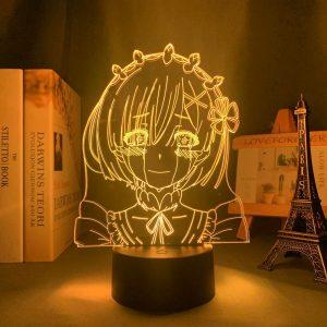 SAD REM LED ANIME LAMP (RE:ZERO) Otaku0705 TOUCH Official Anime Light Lamp Merch
