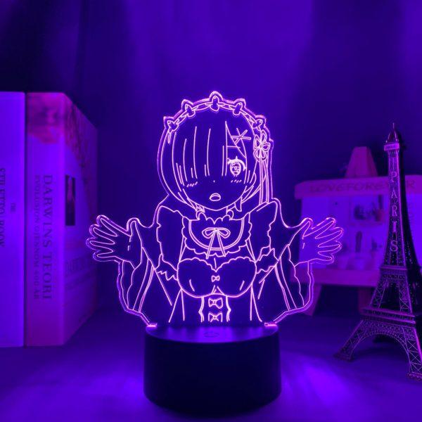 REM LED ANIME LAMP (RE:ZERO) Otaku0705 TOUCH Official Anime Light Lamp Merch