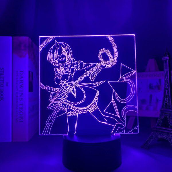 REM + LED ANIME LAMP (RE:ZERO) Otaku0705 TOUCH +(REMOTE) Official Anime Light Lamp Merch