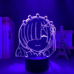 HAPPY REM LED ANIME LAMP (RE:ZERO) Otaku0705 TOUCH Official Anime Light Lamp Merch