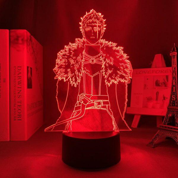 ZENON LED ANIME LAMP (BLACK CLOVER) Otaku0705 TOUCH Official Anime Light Lamp Merch