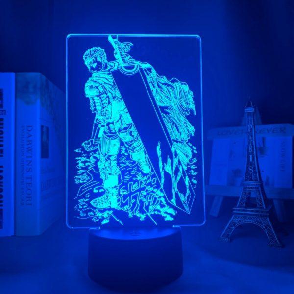 GUTS SWORD LED ANIME LAMP (BERSERK) Otaku0705 TOUCH Official Anime Light Lamp Merch
