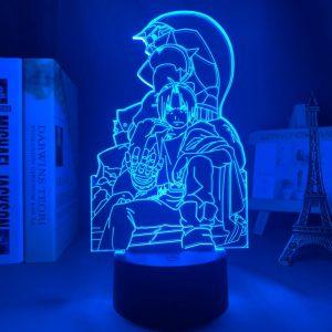 EDWARD ELRIC ++ LED ANIME LAMP (FULLMETAL ALCHEMIST) Otaku0705 TOUCH Official Anime Light Lamp Merch