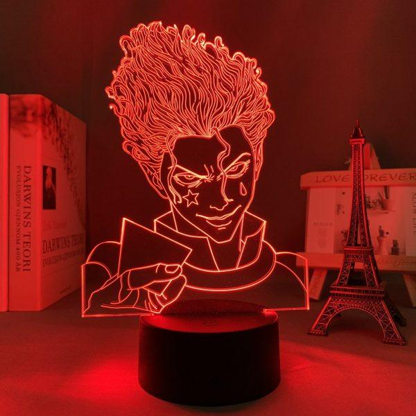 HISOKA STARE LED ANIME LAMP (HUNTER X HUNTER) Otaku0705 TOUCH Official Anime Light Lamp Merch