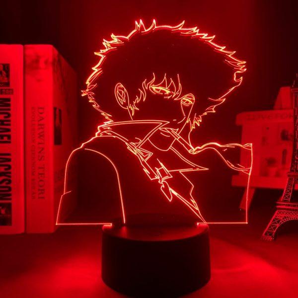SMOKING SPIKE LED ANIME LAMP (COWBOY BEBOP) Otaku0705 TOUCH +(REMOTE) Official Anime Light Lamp Merch