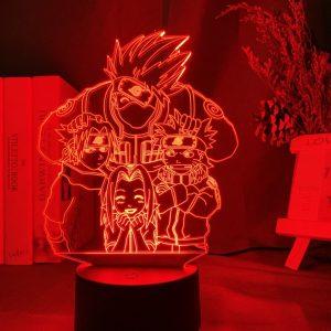 TEAM 7 LED ANIME LAMP (NARUTO) Otaku0705 TOUCH Official Anime Light Lamp Merch