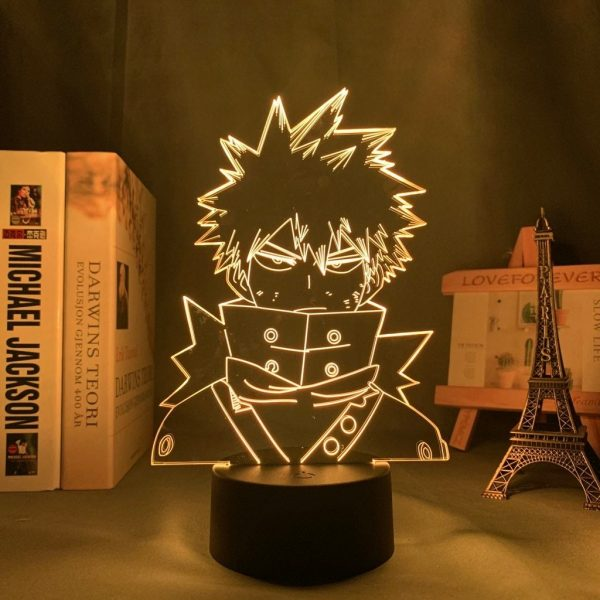 BAKUGO SMUG LED ANIME LAMP (MY HERO ACADEMIA) Otaku0705 TOUCH +(REMOTE) Official Anime Light Lamp Merch