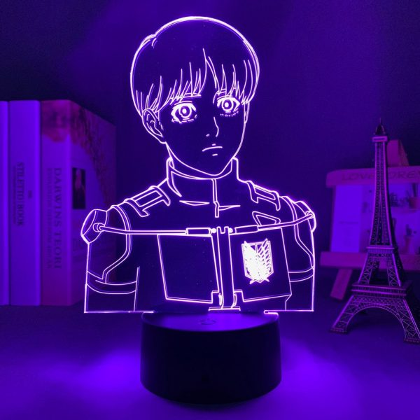 ARMIN + LED ANIME LAMP (ATTACK ON TITAN) Otaku0705 TOUCH +(REMOTE) Official Anime Light Lamp Merch