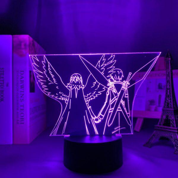 ASUNA X KIRITO LED ANIME LAMP (SWORD ART ONLINE) Otaku0705 TOUCH Official Anime Light Lamp Merch