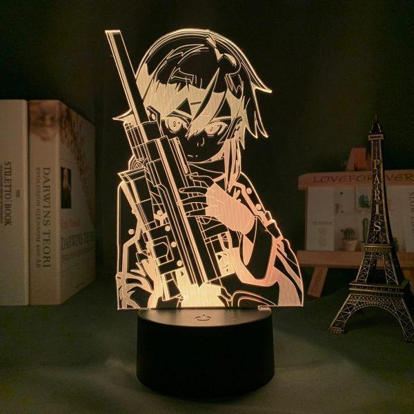 ASADA+ LED ANIME LAMP (SWORD ART ONLINE) Otaku0705 TOUCH Official Anime Light Lamp Merch