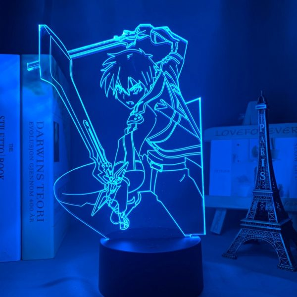 KIRITO LED ANIME LAMP (SWORD ART ONLINE) Otaku0705 TOUCH Official Anime Light Lamp Merch