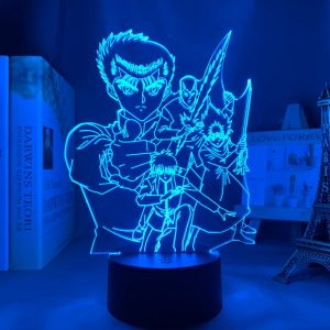 YU YU HAKUSHO LED ANIME LAMP (YU YU HAKUSHO) Otaku0705 TOUCH Official Anime Light Lamp Merch