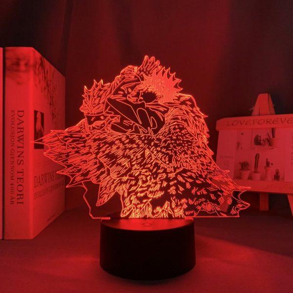 MEGUMI X NUE LED ANIME LAMP (JUJUTSU KAISEN) Otaku0705 TOUCH +(REMOTE) Official Anime Light Lamp Merch