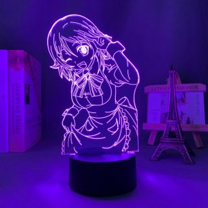 LISBETH LED ANIME LAMP (SWORD ART ONLINE) Otaku0705 TOUCH Official Anime Light Lamp Merch