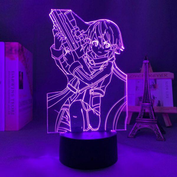 SINON LED ANIME LAMP (SWORD ART ONLINE) Otaku0705 TOUCH Official Anime Light Lamp Merch