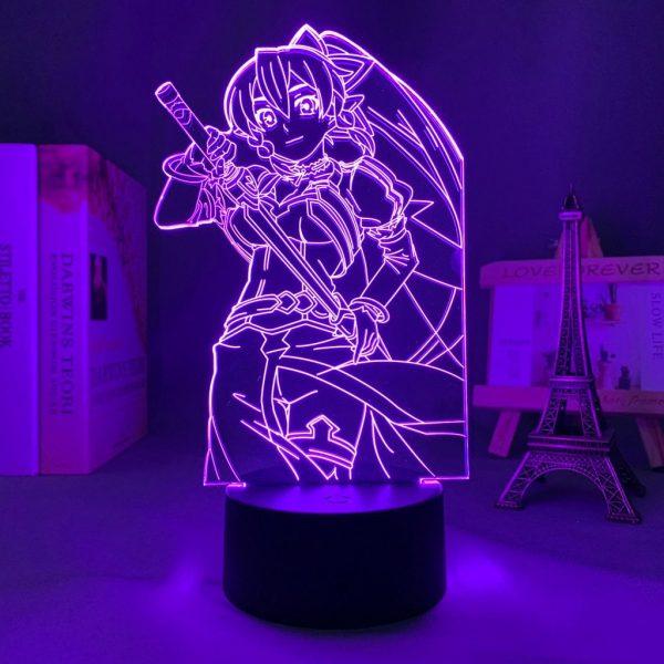 LEAFA LED ANIME LAMP (SWORD ART ONLINE) Otaku0705 TOUCH +(REMOTE) Official Anime Light Lamp Merch