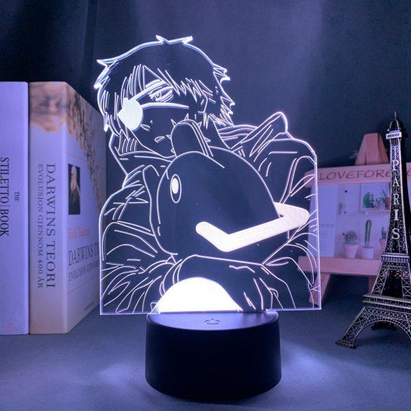 DENJI & POCHITA LED ANIME LAMP (CHAINSAW MAN) Otaku0705 TOUCH Official Anime Light Lamp Merch