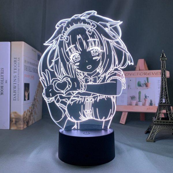 CINNAMON LED ANIME LAMP (NEKOPARA) Otaku0705 TOUCH Official Anime Light Lamp Merch