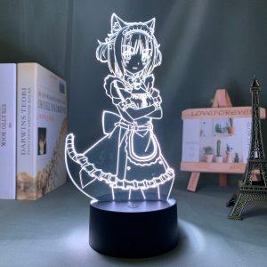 AZUKI LED ANIME LAMP (NEKOPARA) Otaku0705 TOUCH Official Anime Light Lamp Merch