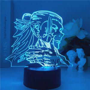 GETO SUGURU LED ANIME LAMP (JUJUTSU KAISEN) Otaku0705 Touch Official Anime Light Lamp Merch