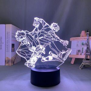 REKI X LANGA LED ANIME LAMP (SK8 THE INFINITY) Otaku0705 TOUCH Official Anime Light Lamp Merch