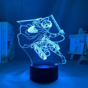LEVI DASH LED ANIME LAMP (ATTACK ON TITAN) Otaku0705 TOUCH Official Anime Light Lamp Merch